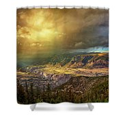 The Big Valley Shower Curtain
