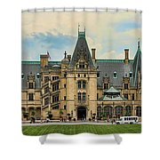 The Biltmore House Shower Curtain