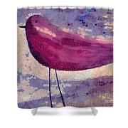 The Bird - K0912b Shower Curtain