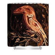 The Bird Unknown 2 Shower Curtain