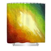 The Birth Of Conceit Shower Curtain