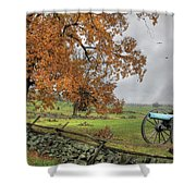 The Birth Of Freedom Shower Curtain