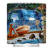 The Birth Of Venus Shower Curtain