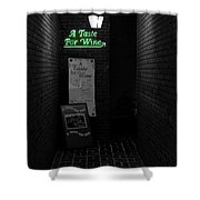 The Bistro Shower Curtain