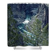 The Black Canyon Of The Gunnison Shower Curtain