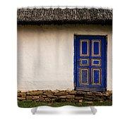 The Blue Door Shower Curtain