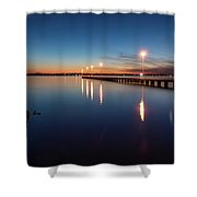The Blue Hour #2 Shower Curtain