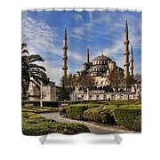 The Blue Mosque In Istanbul Turkey Shower Curtain