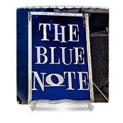 The Blue Note - Bourbon Street Shower Curtain