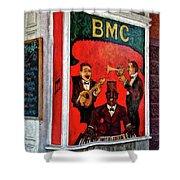 The Bmc Shower Curtain