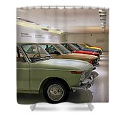 The Bmw Line Up Shower Curtain