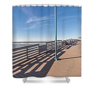 The Boardwalk Shower Curtain