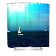 The Boating Set Shower Curtain