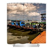 The Boats Shower Curtain