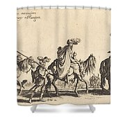 The Bohemians Marching: The Vanguard Shower Curtain