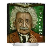 The Book Of Knowledge  Shower Curtain
