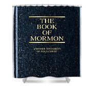 The Book Of Mormon Shower Curtain