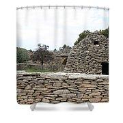 Bories Village - Luberon Shower Curtain