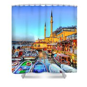 The Bosphorus Istanbul Shower Curtain