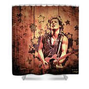 The Boss 1985 Shower Curtain