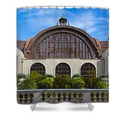 The Botanical Building Shower Curtain
