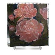 The Bouquet Of Peonies Shower Curtain