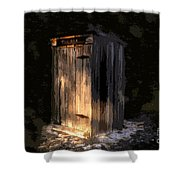 The Box Shower Curtain
