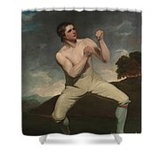 The Boxer Humphrie Shower Curtain