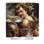 The Boy Bacchus 1620 Shower Curtain