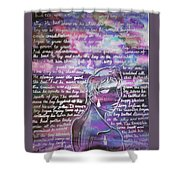 The Boy Who Lived Among The Star Shower Curtain