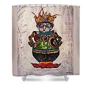 The Boy Who Would Be King Shower Curtain
