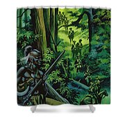 The Braddock Expedition Shower Curtain