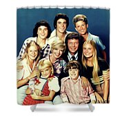 The Brady Bunch Shower Curtain