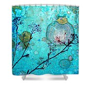The Branches And The Moon Shower Curtain
