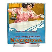 The Brat 1919 Shower Curtain