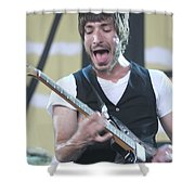 The Bravery Michael Zakarin Shower Curtain