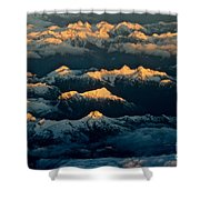 The Break Of Day Shower Curtain