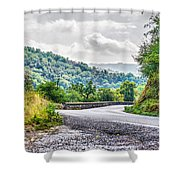 The Breath Of Autumn Shower Curtain