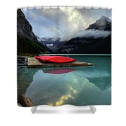 The Breathtakingly Beautiful Lake Louise II Shower Curtain
