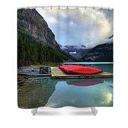 The Breathtakingly Beautiful Lake Louise IIi Shower Curtain