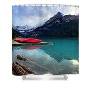 The Breathtakingly Beautiful Lake Louise Iv Shower Curtain
