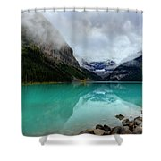 The Breathtakingly Beautiful Lake Louise Vi Shower Curtain