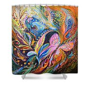The Breeze Shower Curtain