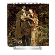 The Bride Of Lammermoor Shower Curtain