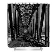 The Bridge At Mile 225 Shower Curtain