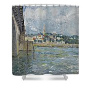 The Bridge At Saint Cloud Shower Curtain