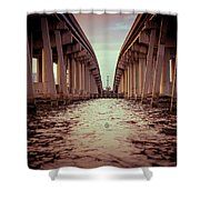 The Bridge II Shower Curtain