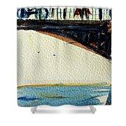 The Bridge Shower Curtain
