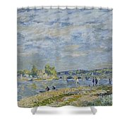 The Bridge Near Sevres Shower Curtain