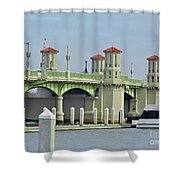 The Bridge Of Lions Shower Curtain